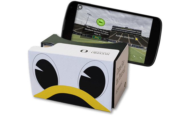 University of Oregon - UO360 Google Cardboard