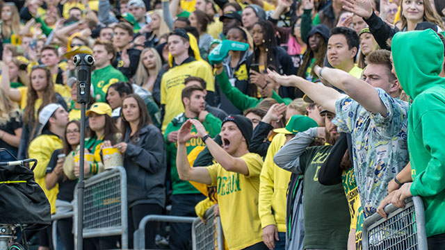 University of Oregon - Ducks Football Game 360