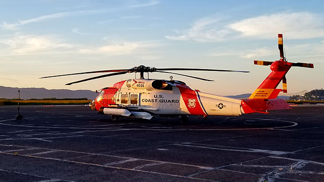 US Coast Guard MH60 Helicopter