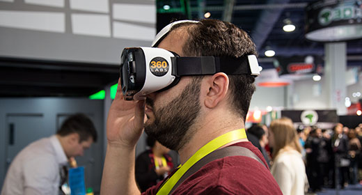 360 Labs demoing VR at CES 2015