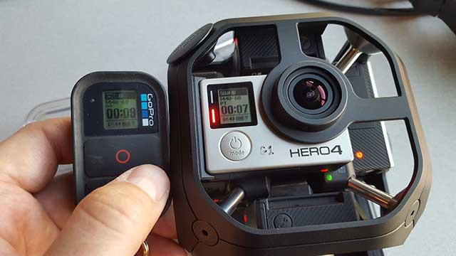 GoPro Omni and standard remote