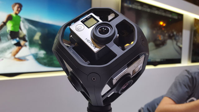 GoPro's new six camera housing