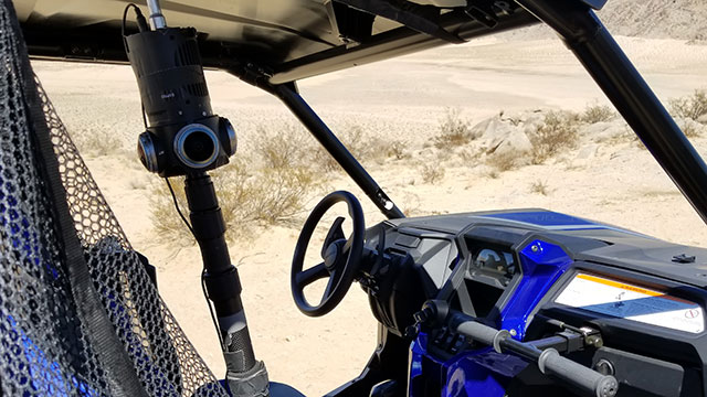 Z-cam S1 Pro with POV Position in UTV