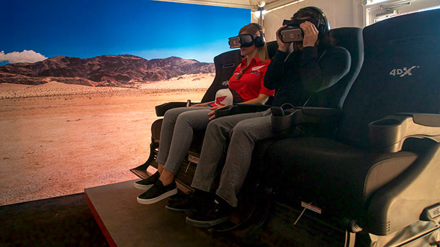 The Honda Talon Experience in 4DX Chair