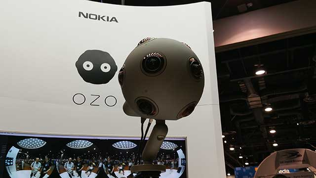 Nokia OZO at NAB 2016
