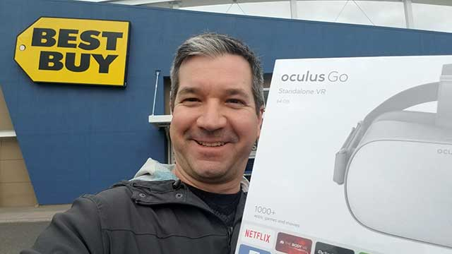 Oculus Go - available at Best Buy
