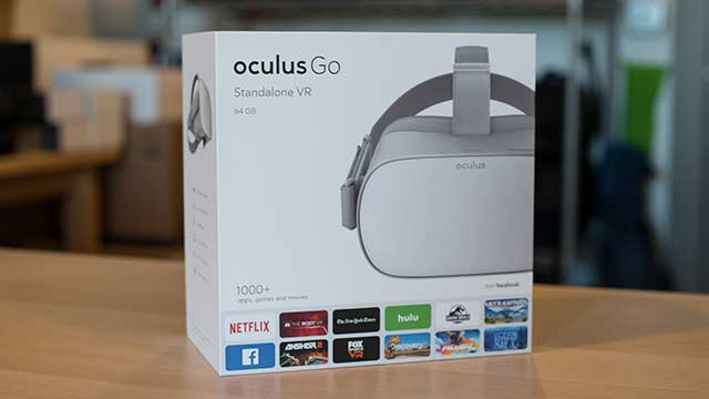 Oculus Go First Impressions 360 Labs