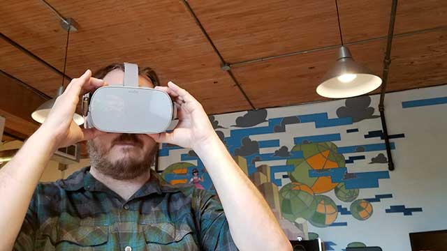 Oculus Go First Impressions | 360 Labs