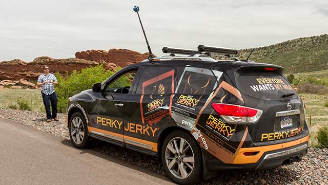 Perky Jerky, the Jerk Mobile!