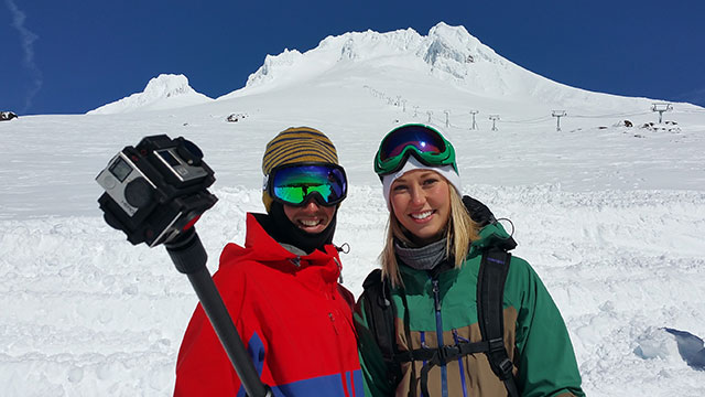 Skiing and Snowboarding at Timberline with Mt Hood Territory