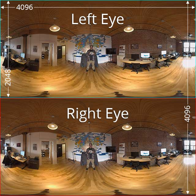 Example Stereo 3Dx360 Frame