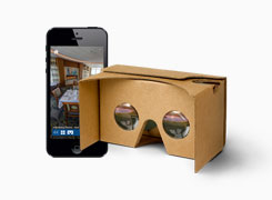 Virtual tours for VR headsets