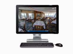 Virtual Tours on Desktop