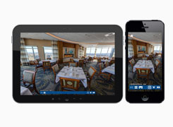 Virtual Tours on Mobile Devices